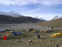 Camp de base Chinois( parking 4800m)